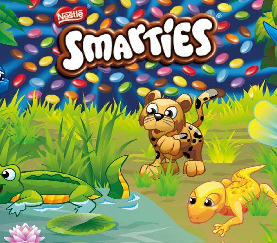 Smarties Dschungel