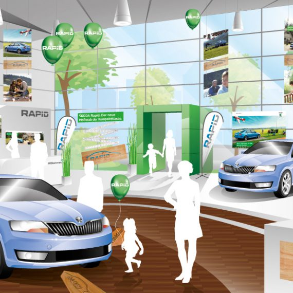 Skoda Rapid Showroom